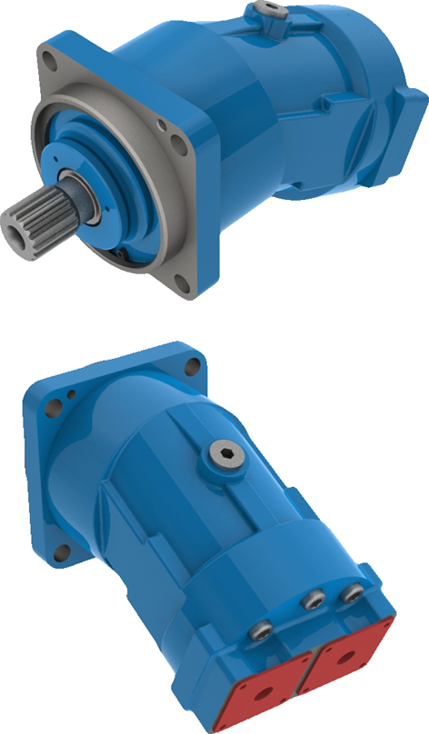 Fixed pumps for open circuit